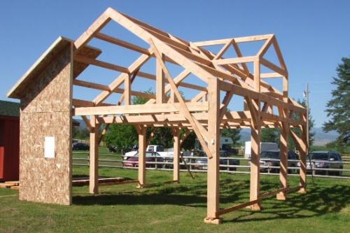 каркасное строительство - Школа